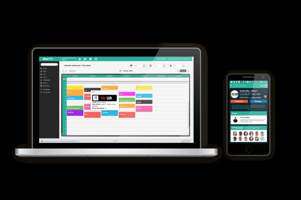 Liberfit : vue web et mobile 1